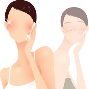 シミに効果大の美白化粧品選び